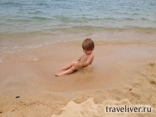Maenam beach, пляж Мейнам, Маенам