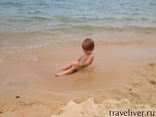 Пляж для детей на Самуи