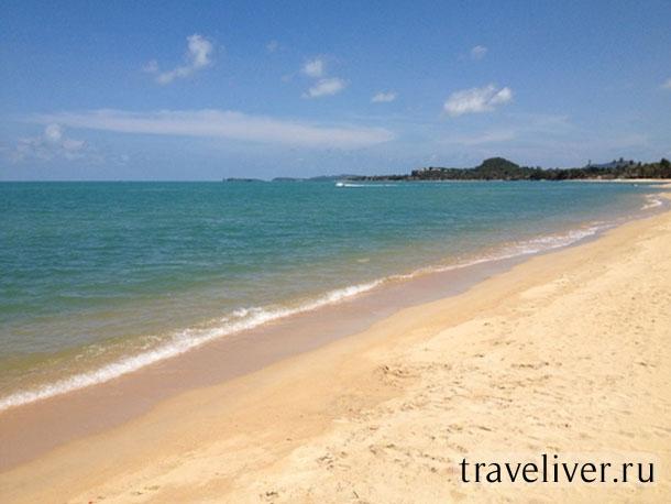 Maenam beach, пляж Мейнам