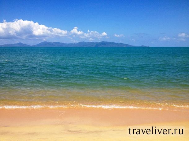 пляж Маенам, Maenam beach