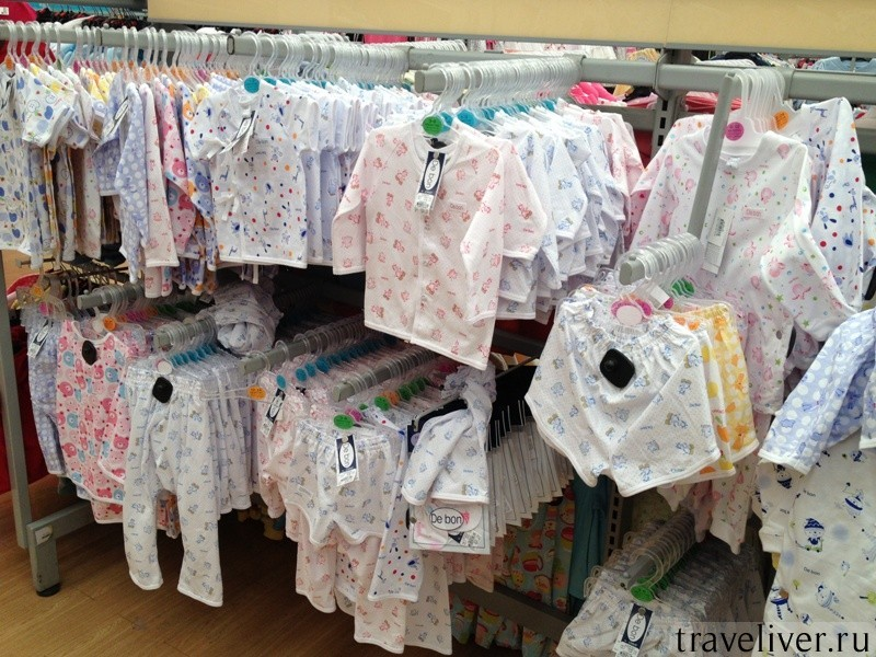 Одежда для младенцев на Самуи