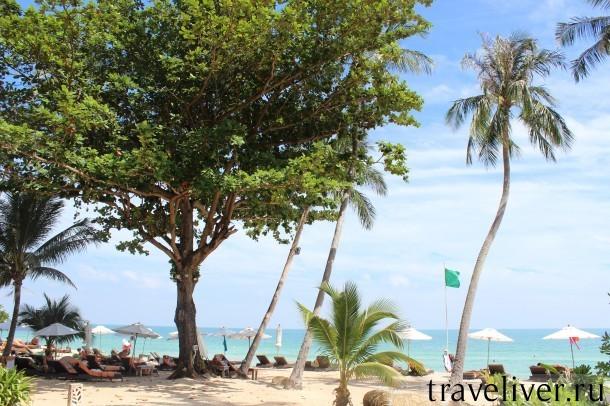 Пляж Чавенг Ной Самуи, Chaweng Noi Beach Samui